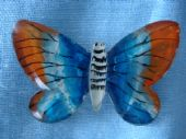Lucite Butterfly Brooch - 1940's Era - (SOLD)